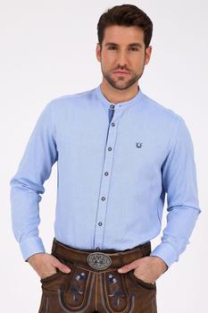 Krüger Trachtenhemd Rafael blau