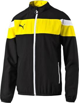 puma-spirit-ii-woven-trainingsjacke-schwarz-gelb