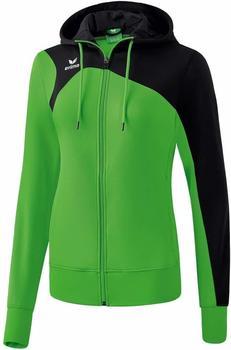 Erima Club 1900 2.0 Trainingsjacke mit Kapuze Damen green/schwarz