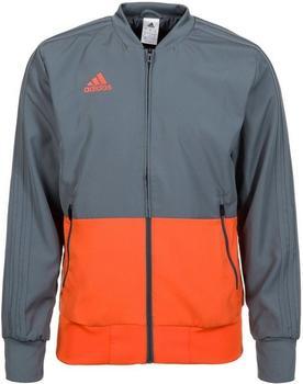 Adidas Condivo 18 Präsentationsjacke onyx/orange