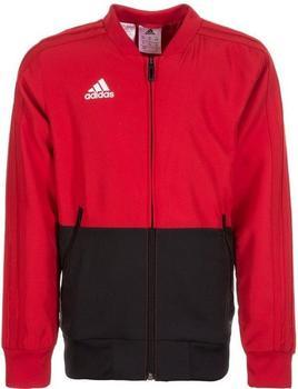 Adidas Condivo 18 Präsentationsjacke Kinder power red/black/white