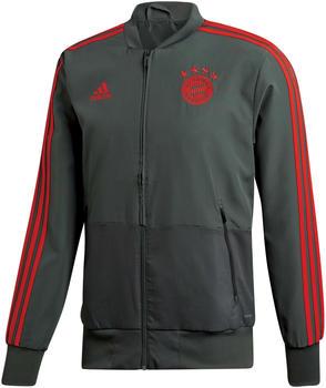 Adidas FC Bayern München Präsentationsjacke 2018/2019 ivy rosso