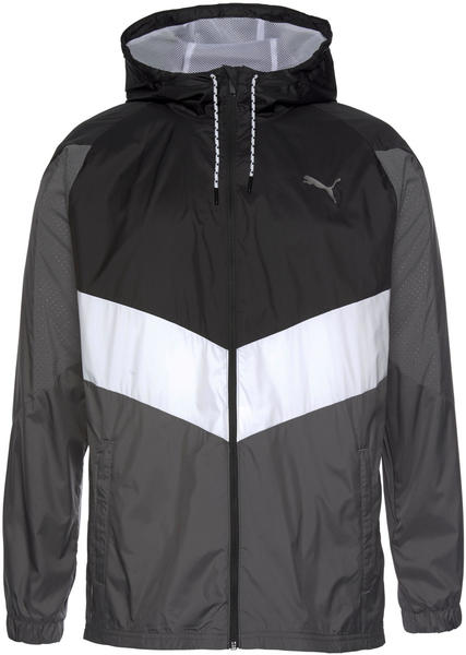 Puma Reactive Woven Men's Training Jacket (518449) black/castlerock/white
