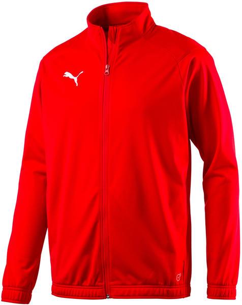 Puma Football Men's LIGA Sideline Poly Core Jacket (655946) puma red/puma white