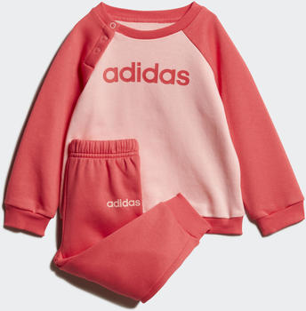Adidas Linear Fleece Jogger Set glow pink/core pink (FM6574)