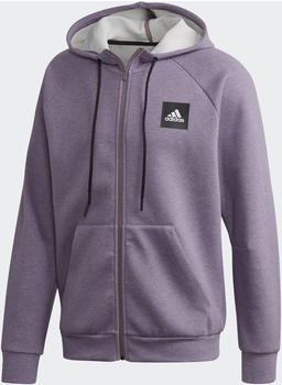 Adidas Must Haves Stadium Kapuzenjacke legacy purple mel (FI4046)