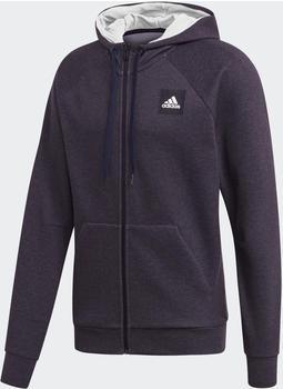 Adidas Must Haves Stadium Kapuzenjacke black melange (FL3999)