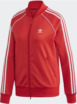 Adidas SST Originals Jacke Women lush red/white (FM3313)