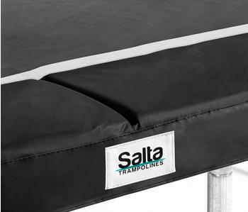 Salta Schutzrand für Trampolin Randabdeckung Anthrazit/Schwarz Rund 213 cm