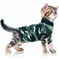 Suitical Recovery Suit, Katzen-Anzug zur Rehabilitation, Größe XXXS,