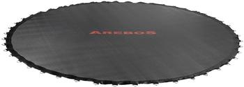 Arebos Trampolin Sprungmatte Ø 379cm für Trampoline mit Ø 430cm, 96 Ösen und 165mm Federlänge