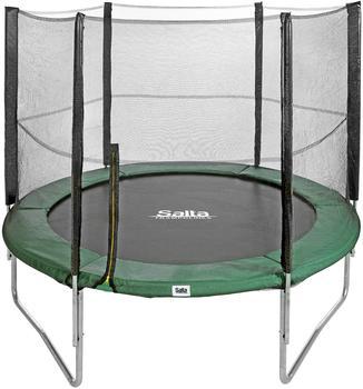 Salta Trampolin 213 cm mit Sicherheitsnetz grün