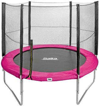Salta Combo 244 cm inkl. Sicherheitsnetz schwarz/pink