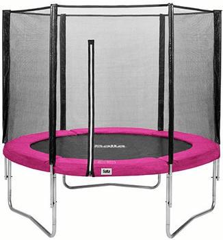 Salta Trampolin 183 cm mit Sicherheitsnetz pink
