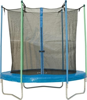 New Sports Trampolin mit Sicherheitsnetz 305 cm