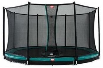 Berg InGround Champion 380 green + Safety Net Comfort