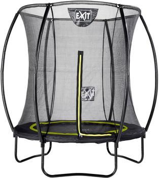 Exit Toys Trampolin Silhouette 183 cm mit Sicherheitsnetz schwarz