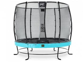 exit-toys-trampolin-elegant-premium-305-cm-mit-sicherheitsnetz-deluxe-blau