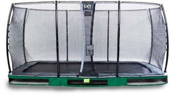 EXIT TOYS EXIT Elegant Premium Rect. 244x427 (8x14ft) + Sicherheitsnetz Economy grün