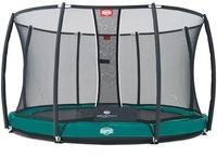 Berg Toys InGround Elite+ 380 cm inkl. Sicherheitsnetz grün