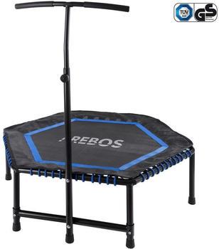 Arebos Mini Rebondisseur Fitness Hexagonal Blue
