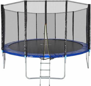TecTake Trampolin Garfunky - Fitness Trampolin, Gartentrampolin, Kindertrampolin, - 457 cm
