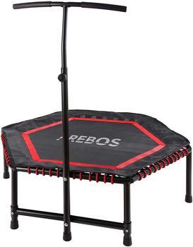 Arebos Mini Rebondisseur Fitness Hexagonal Red