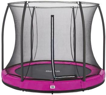Salta Comfort Edition Ground 213 cm + Safety Net pink