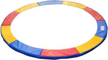 HomCom Trampolin-Randabdeckung 366 cm bunt