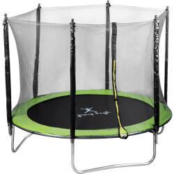 Uniprodo Gartentrampolin 244 cm 100 kg mit Netz