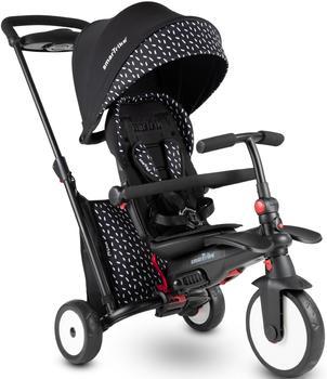 smarTrike smarTrike® Dreirad smarTfold STR5, Schwarz, mit verstellbarem Sonnenschutzdach schwarz