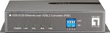 Level One Ethernet Over VDSL2 Konverter
