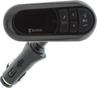 König UKW Audiosender Bluetooth 3.5 mm