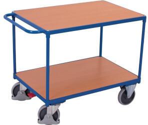 Variofit VARIOfit Schwerer Tischwagen mit 2 Ladeflächen (SW800.500)
