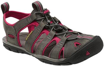 Keen Clearwater Leather CNX Women magnet/sangria Gr. 38,5