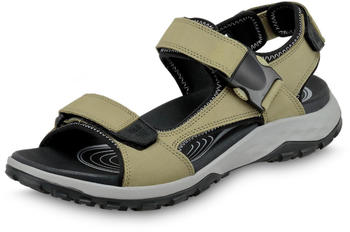 Jack Wolfskin Rocky Path Leather Sandal khaki/grey