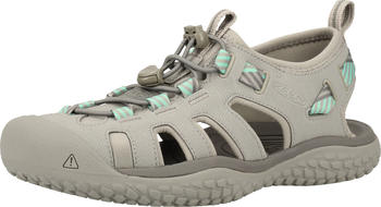 Keen SOLR Sandals Women light gray/ocean wave
