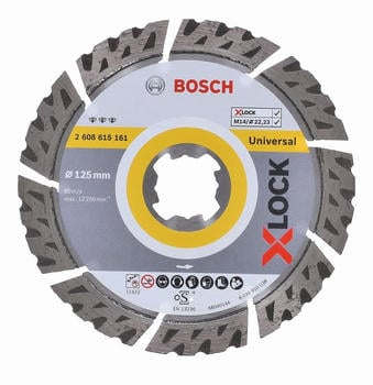 Bosch Best for Universal X-Lock 125 x 2,2 mm