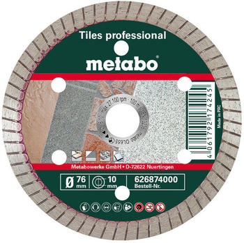 Metabo Diamantblatt R185Db 185 mm