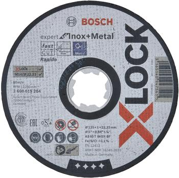 Bosch X-Lock Expert for Inox and Metal 125 mm