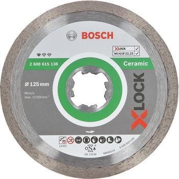 Bosch X-Lock Standard for Ceramic 125 mm