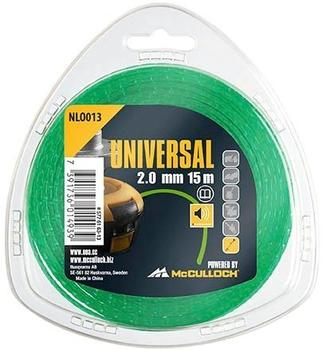 Universal NLO013 Trimmerfaden 2,0mm x 15m