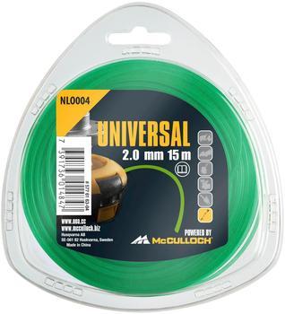 Universal Trimmerfaden NLO004 2,0 mm x 15 m