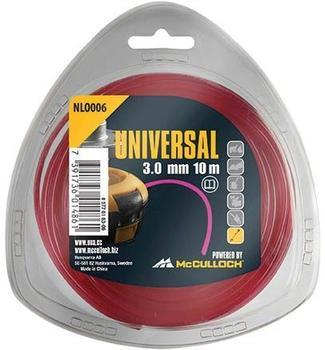 Universal NLO006 Trimmerfaden 3,0mm x 10m