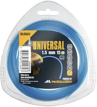 Universal NLO002 Trimmerfaden 1,5mm x 15m