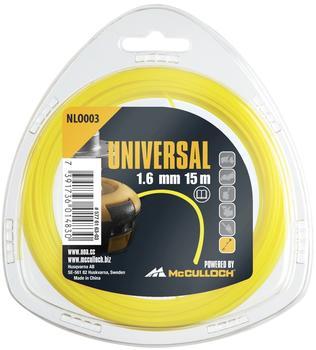 Universal NLO003 Trimmerfaden 1,6mm x 15m