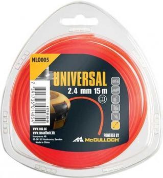 Universal NLO005 Trimmerfaden 2,4mm x 15m