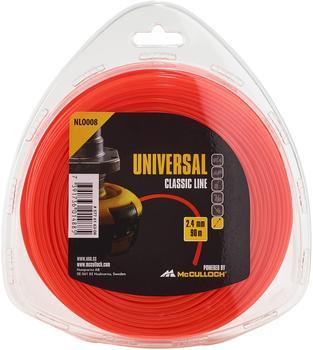 Universal NLO008 Trimmerfaden 2,4mm x 90m
