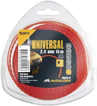 Universal NLO014 Trimmerfaden 2,4mm x 15m