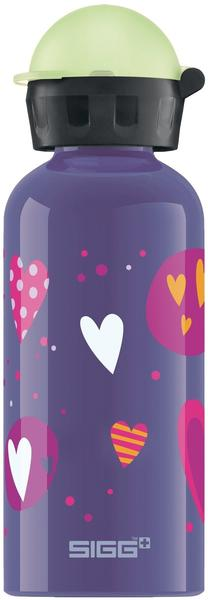 SIGG Kids Glow in the Dark Heartballoons (400 ml)
